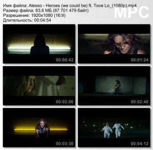 Alesso ft. Tove Lo - Heroes (We Could Be)