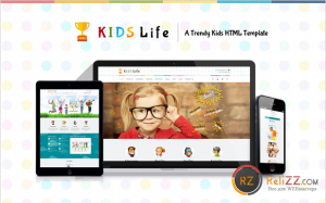 Kids Life - A Trendy Kids HTML Template [HTML/CSS]