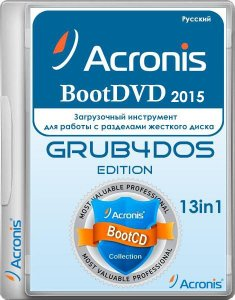 Acronis BootDVD 2015 Grub4Dos Edition v.27 13in1 (2015/RUS)