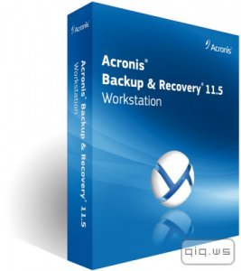 Acronis Backup Workstation / Server 11.5.43956 + Universal Restore (Официальная русская версия!)