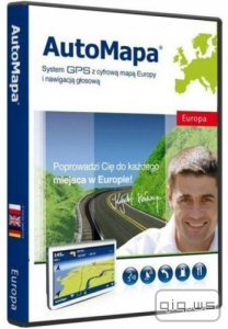 AutoMapa 6.17.0.2559 EU-1504 for Windows Mobile/WinCE/Windows PC
