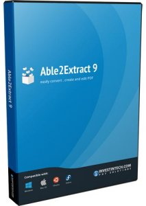 Able2Extract PDF Converter 9.0.11.0