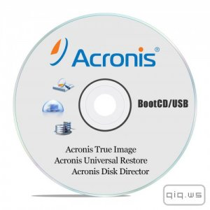 Acronis True Image 2016 v19.0 Build 5620 + Acronis Universal Restore 2016 v11.5 Build 39006 + Acronis Disk Director 12.0.3223 BootCD/USB (RUS)