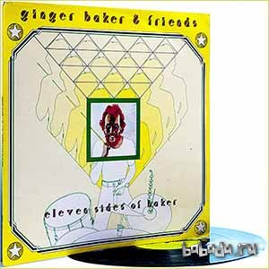 Ginger Baker and Friends - Eleven Sides of Baker (1976) (Vinyl)