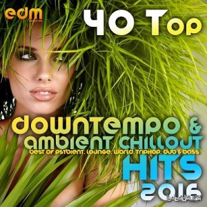40 Top Downtempo and Ambient Chillout Hits 2016 Best Of Psybient Lounge World TripHop Dub and Bass (2015)