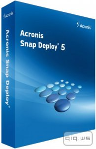 Acronis Snap Deploy 5.0.1656 BootCD (RUS/ENG)