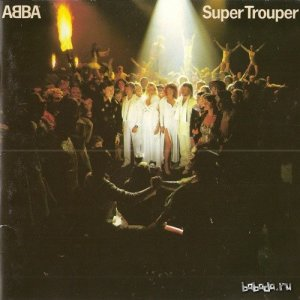 ABBA - Super Trouper (1st Press, Red Polydor 800-023-2, West Germany, 15 November 1982) (1980) FLAC