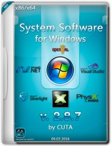 System software for Windows 2.8.7