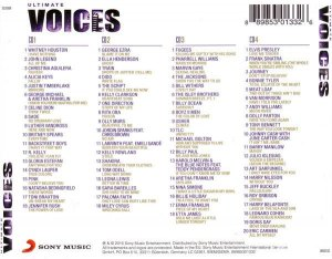 Various Artist - Ultimate / Voices 4CD (2016)