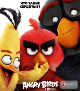 Angry Birds в кино / The Angry Birds Movie (2016/TC/720p/1400MB/745MB) Чистый дубляж!